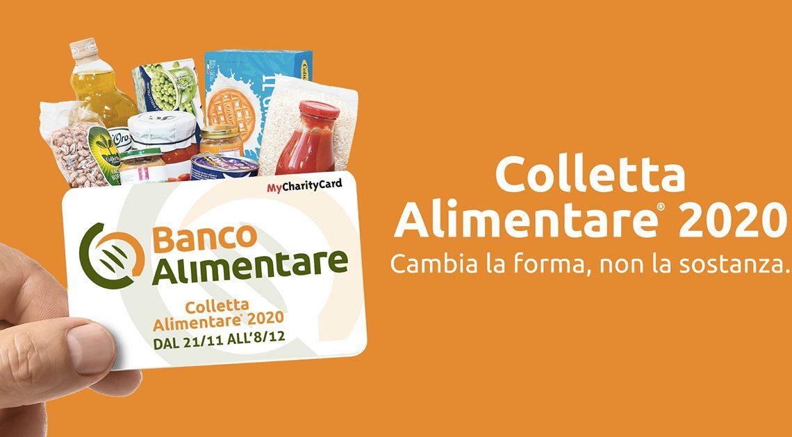 Colletta alimentare 2020 dal 21/11 all'08/12